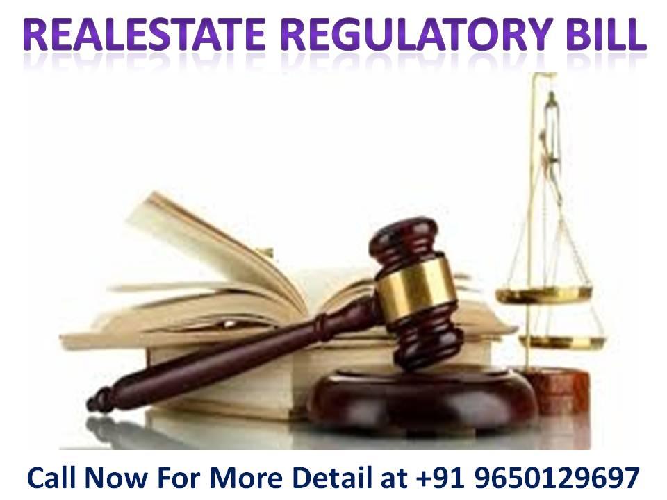 Real Estate Regulatory Bill