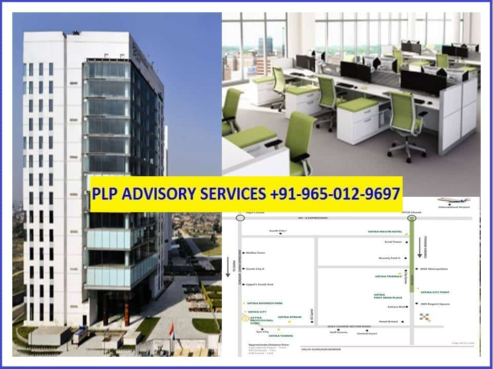 Furnished Office on rent in Vatika Professional Point