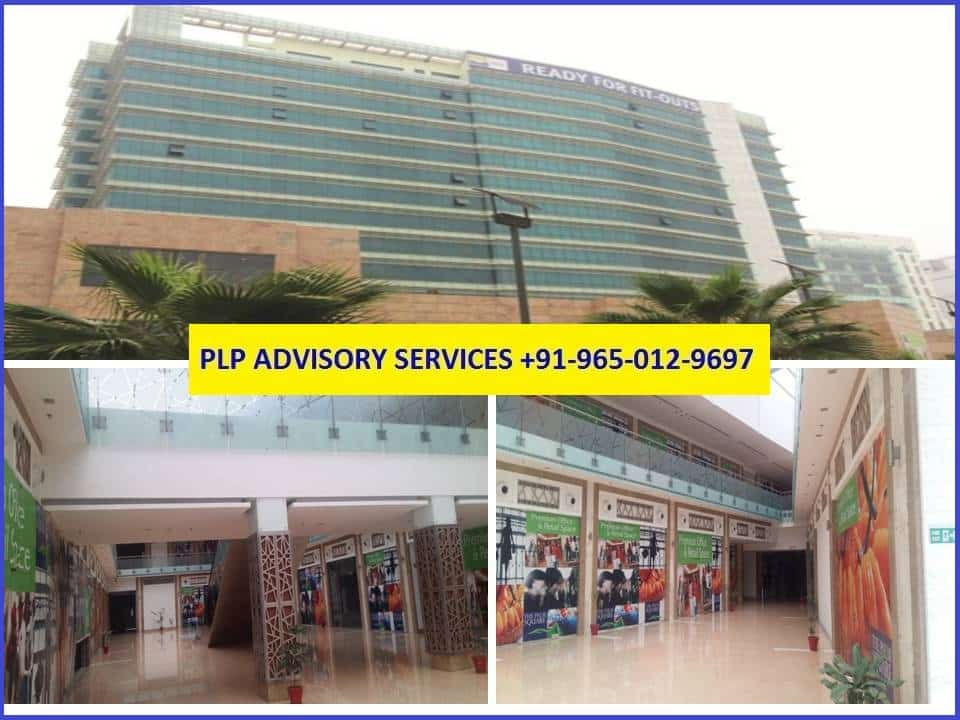 Shop in Emaar Palm Square Gurgaon for Rent