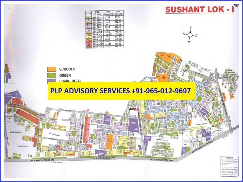 Pre leased Property in Sushant Lok 1 Gurgaon