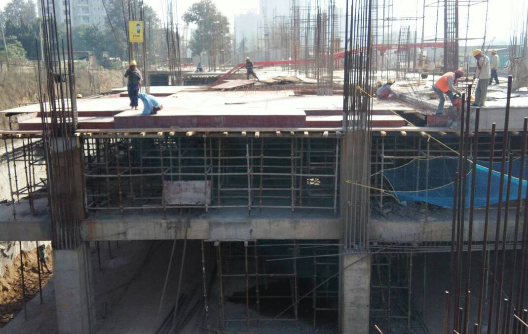 AIPL Joy Street Sector 66 Gurgaon construction update