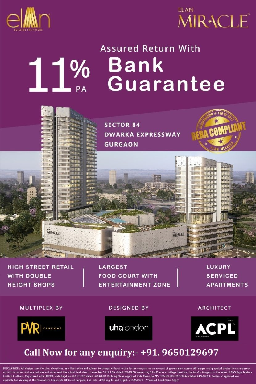 Elan Miracle Gurgaon-9650129697