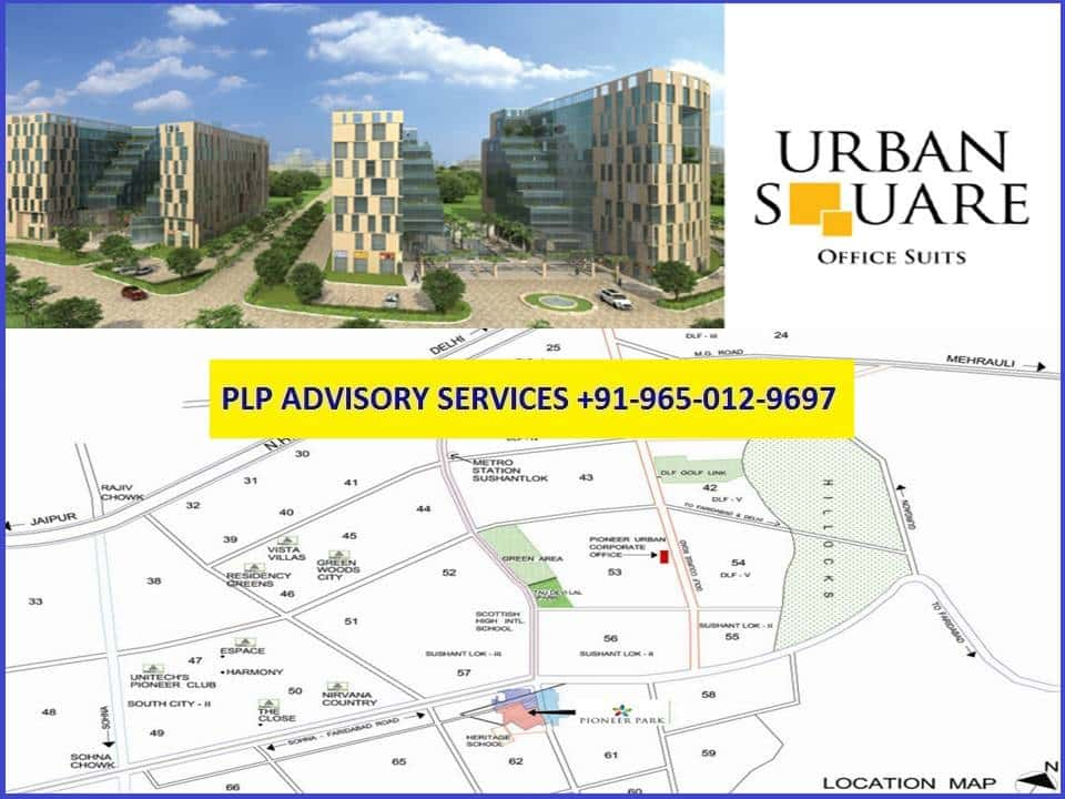 Pre-leased Property in Urban Square Gurgaon
