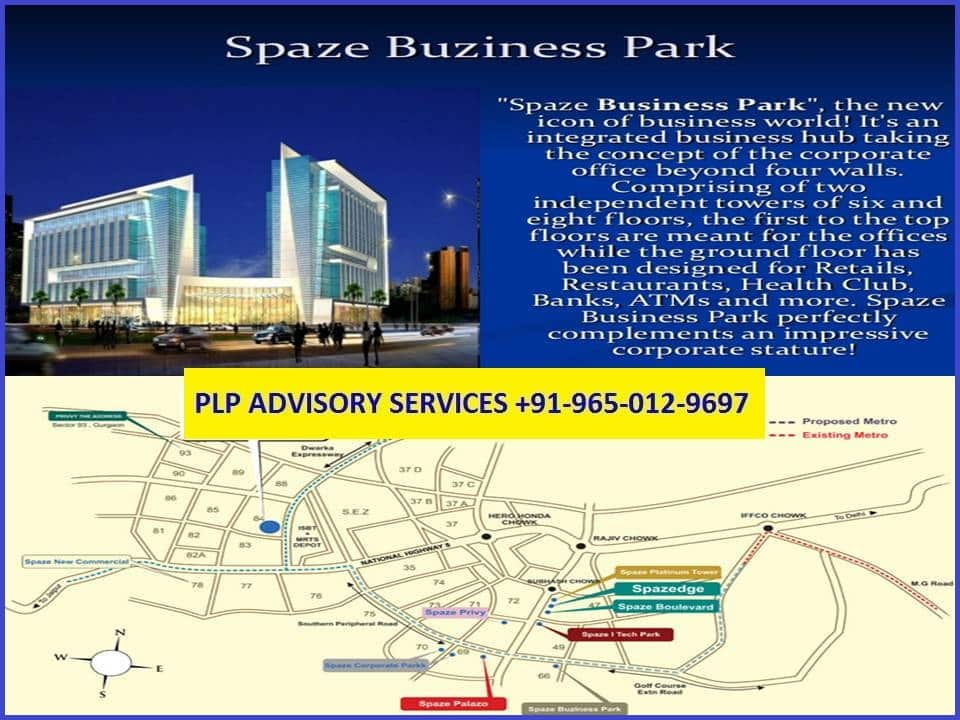 Pre-leased Property in Spaze Buziness Park Gurgaon