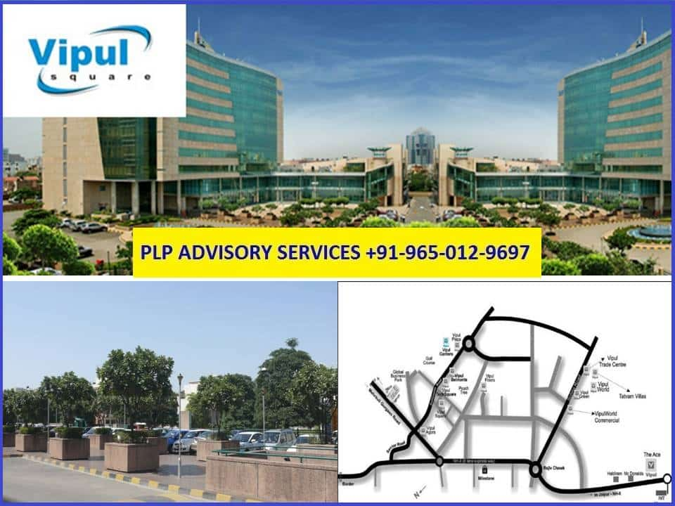 Pre-leased Property in Vipul Square Gurgaon