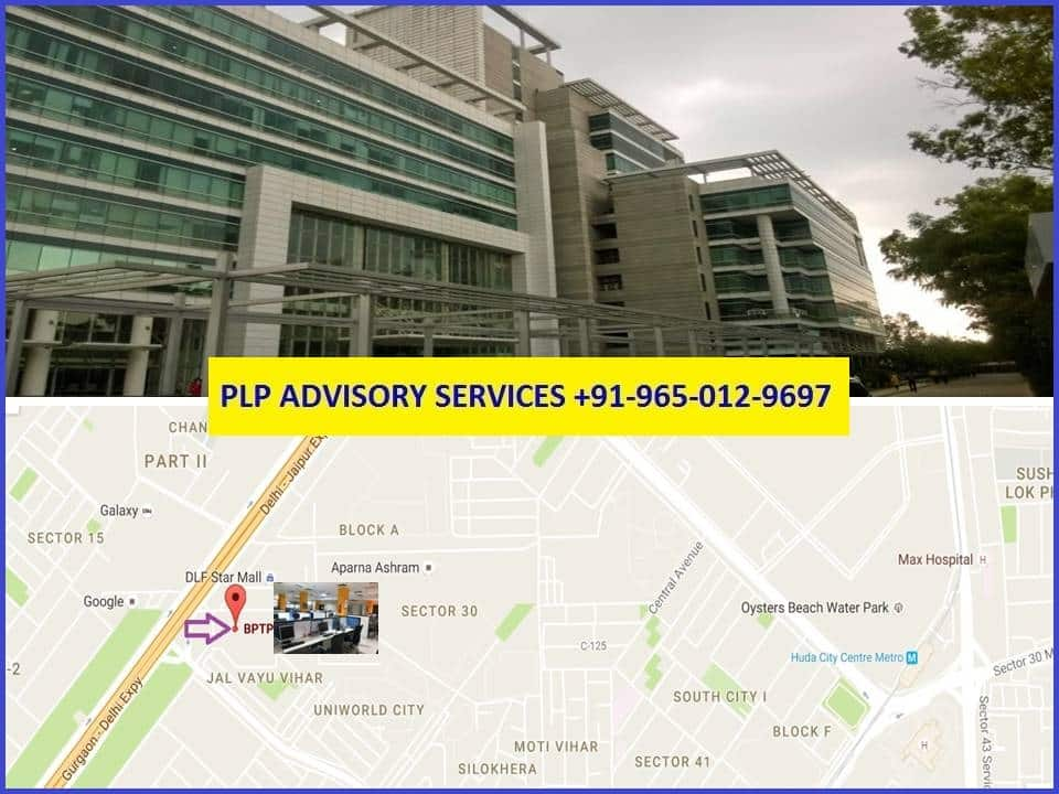 Pre-leased property in BPTP Park Centra Gurgaon