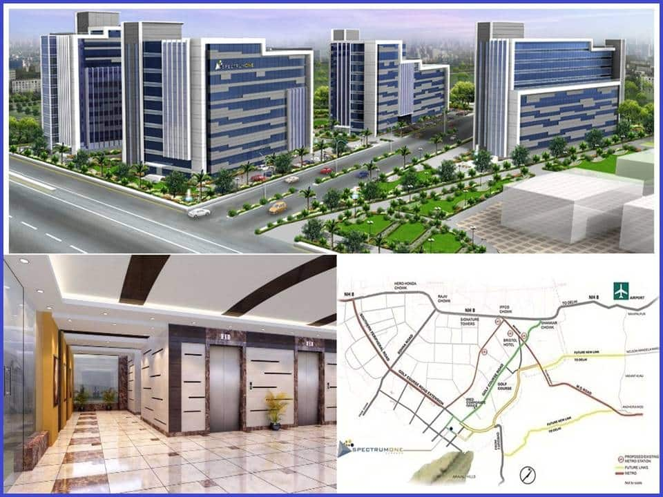 Splendor Spectrum One Sector 58 Gurgaon on Golf Course Extension Road