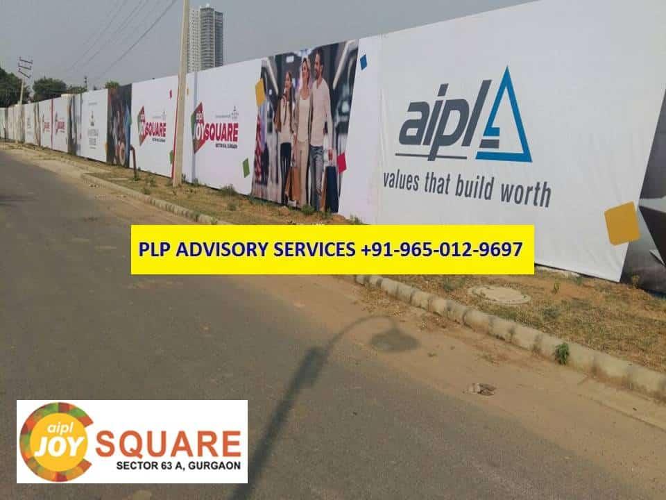 AIPL Joy Square Golf Course Extension Road Gurgaon    9650129697