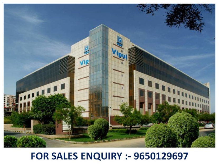 Pre-leased property in Vipul Plaza Gurgaon