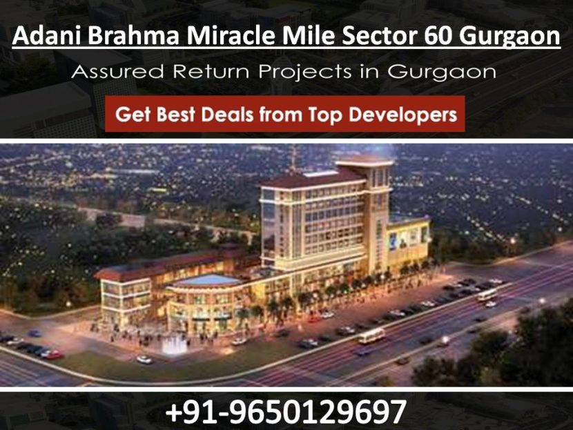 Adani Brahma Miracle Mile Sector 60 Gurgaon