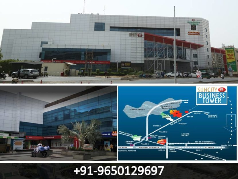 Pre-leased Property in Suncity Business Tower Gurgaon-9650129697