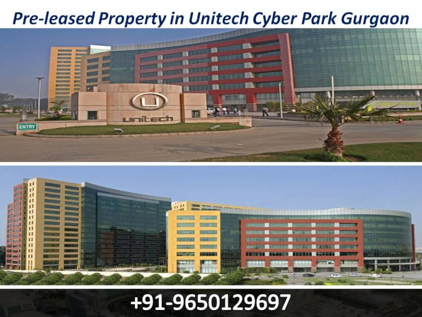Pre-leased Property in Unitech Cyber Park Gurgaon