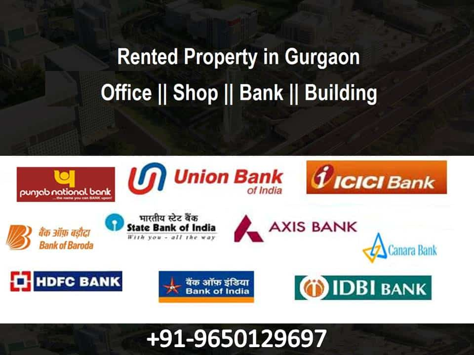 Pre-leased Property for sale in Gurgaon-9650129697