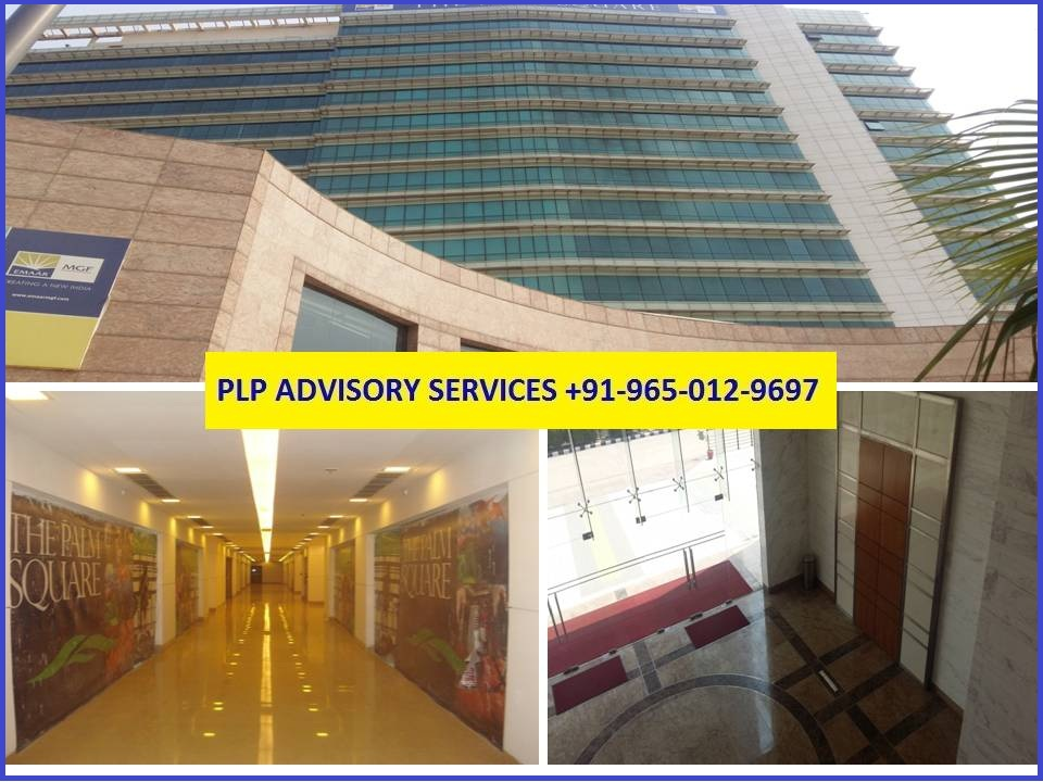9650129697 Office For Lease In Emaar Palm Square Gurgaon
